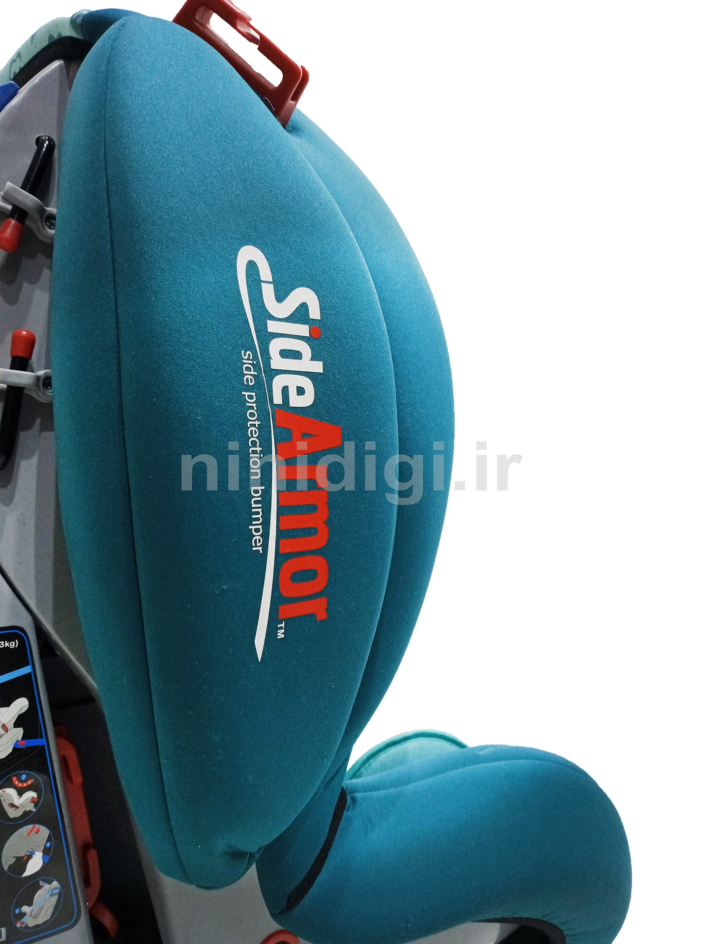 side armor car seat