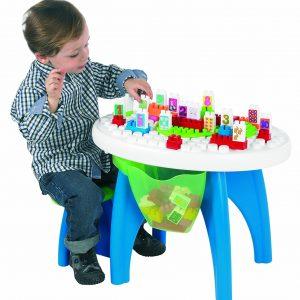 میز لگو با صندلی کودک ecoiffier